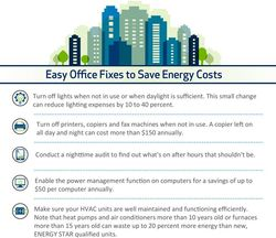 Easy Office Fixes to Save Energy Costs